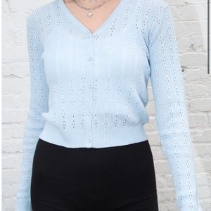 NWT Brandy Melville Shannon Sweater Light Blue OS